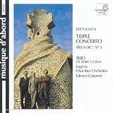 Beethoven: Triple Concerto for piano, violin, cello in C, Op. 56 / Piano Trio in C minor Op1, No. 3