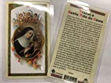 Holy Prayer Cards for The Prayer to Santa Rita de Casia - Saint of The Impossible in Spanish Set of 2