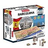 4D Cityscape Barcelona, Spain Time Puzzle