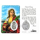 Saint Lucy, Prayer Card