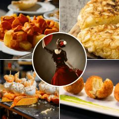 Moments of our Barcelona Tapas and Flamenco tour