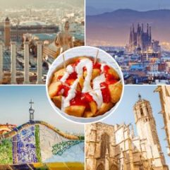 Moments in our One Day Tour of Barcelona