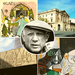 Picasso sites in Barcelona