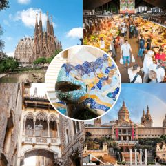 Images of our Barcelona 2 Day Tours
