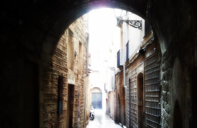 Alleys of el Barri Gotic