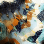 Dragon fountain at Park Guell