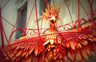 Gracia Festival decorations