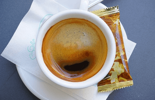 Cafes in Barcelona: morning expresso