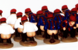 How to make a nativity scene: Caganer