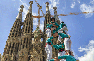 Barcelona in September: Castellers