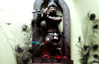 Barcelona hidden restaurants: Hare Krishna vegetarian restaurant