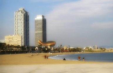 Barcelona Beaches: Olympic Village