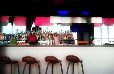 W hotel in Barcelona: Eclipse bar