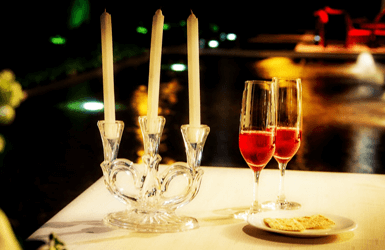Romantic Restaurant in Barcelona - the perfect evening