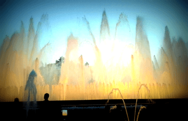 Montjuic Park Magic Fountain