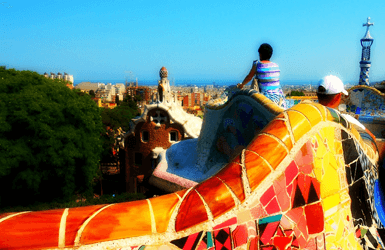 Cool restaurants near Park Guell