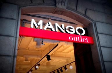 Barcelona outlets: Mango