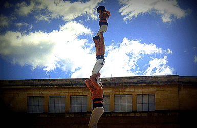 Catalonia Human Towers: pilar