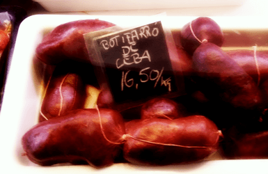 Spain Adventurous Food: blood sausage