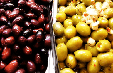 Types of Olives from Spain