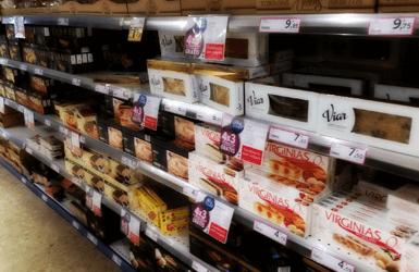 Supermarkets vs turron shops