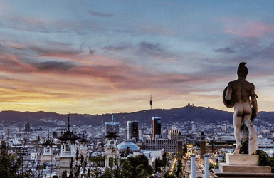 Great Hotels with views in Barcelona