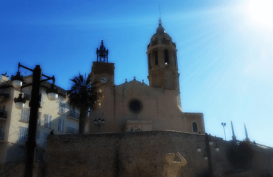 what to visit in Sitges: Santa Tecla