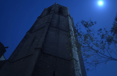 Barcelona by night: Gothic Belltower open for visits