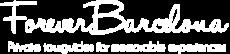 ForeverBarcelona Private Tours White Logo