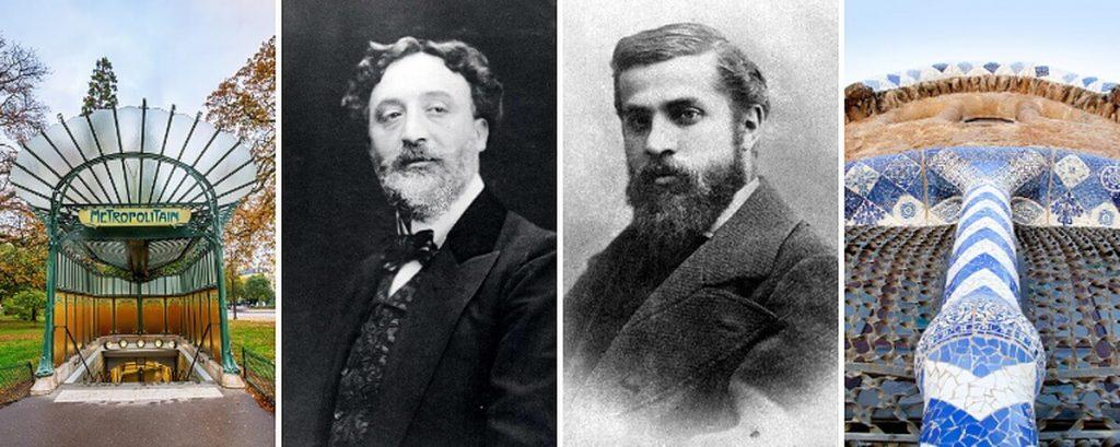 Hector Guimard or Antoni Gaudi?