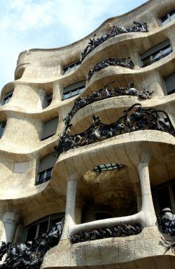 Antoni Gaudi masterpieces: Casa Mila (La Pedrera)