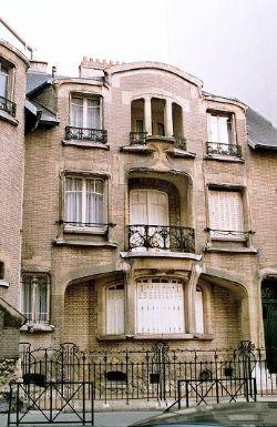 Hector Guimard Buildings: Hotel Mezzara