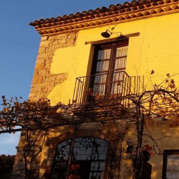 "One of the ""masia"" restaurants in Montserrat"