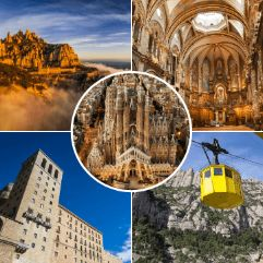Barcelona and Montserrat Tours in one day