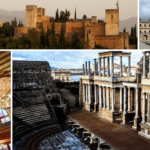Fine examples of architecture of Spain