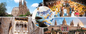 2 full day Barcelona private tours