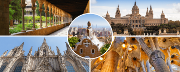 Images of our private 4 days Barcelona itinerary
