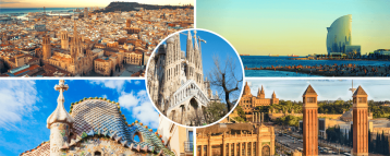 Sites in our Sightseeing Tour of Barcelona Spain