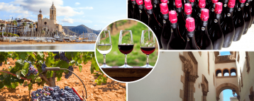 Sitges and Penedes Wine Country on our tour
