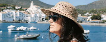 Lady on our Barcelona to Cadaques day trip