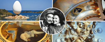 Highlights of 3 Dali museums in Catalonia