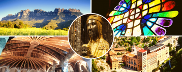 Montserrat Cripta Guell Tour