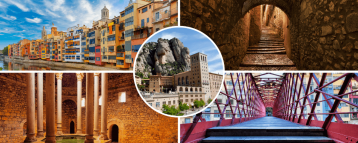 Girona and Montserrat day trip (Barcelona, Spain)